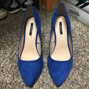Forever 21 Shoes - Royal blue pumps